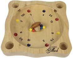 Giroulette ou virolon Door Games, Wooden Board Games, Wooden Projects, Wood Toys, Diy Toys, Wood Turning, Diy And Crafts, Projects To Try, Crafty
