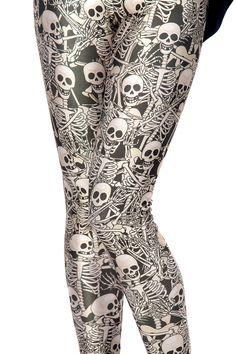 Funny Bones Leggings <3<3<3