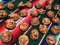 Bodegra Negra offered a colorful lobster tostada with mango cucumber salsa and avocado.