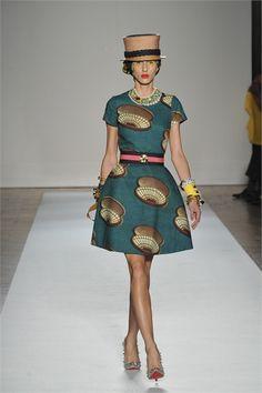Sfilata Stella Jean Milano - Collezioni Primavera Estate 2013 - Vogue