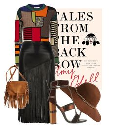 """""""street style"""" by nosoytumadree ❤ liked on Polyvore featuring Moschino, River Island, Tom Ford, American Eagle Outfitters, StreetStyle and talesfromthebackrow"""