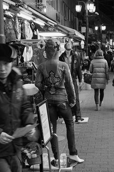 Ameyoko street Times Square, Black And White, Street, Concert, Pictures, Fictional Characters, Photos, Black N White, Black White