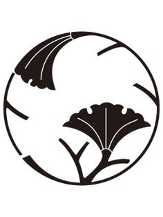 Japanese wedding symbols, calligraphy, family crest and Shinto Torii icon. Japanese Patterns, Japanese Design, Japanese Art, Japanese Family Crest, Wedding Symbols, Silhouette Cutter, Japanese Wedding, China Painting, Leaf Art