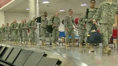 America's bravest head home for the holidays :)