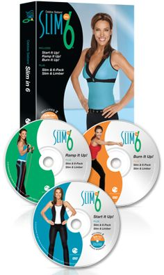 Slim in workout will literally reshape your body in 6 short weeks. The secret is Debbie's exclusive Slim Training® technique, which combines fat-burning cardio with light resistance moves to help you slim and sculpt your body without bulking you up! Slim In 6, How To Slim Down, Workout Dvds, Workout Videos, Debbie Siebers, Fat Burning Cardio, Low Impact Workout, Get In Shape, Workout Programs