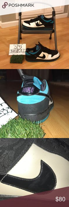 1d6b697be3d1d8 Nike Dunk Low Aqua  Purple  Black - Mens 12 Amazing pair of Nike Dunk