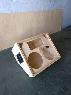 Diy Amplifier, Audiophile Speakers, Monitor Speakers, Audio Speakers, Car Audio, Subwoofer Box Design, Speaker Box Design, Woofer Speaker, Speaker Plans