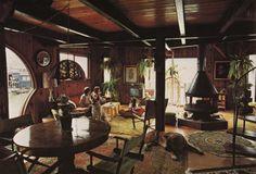 1970s houseboat