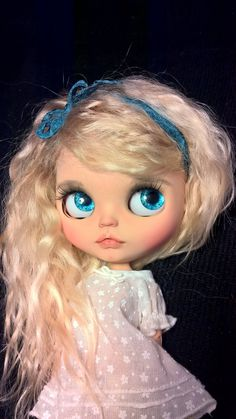 Blythe Fashion, Character, Play Dolls Sabrina The Witch Custom Blythe Doll