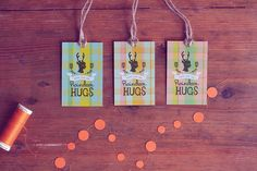 41 Sets of Free Printable Christmas Gift Tags: Peace, Love, and Reindeer Hugs From Eat Drink Chic