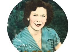 1940s Hand Painted Portrait Round Shaped // TLC Needed Vintage Professional Photography Collectible by SueEllensFlair on Etsy
