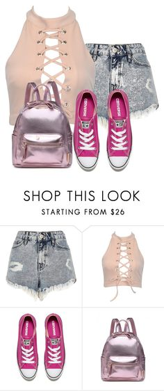 """What to wear for summer"" by itsofia on Polyvore featuring River Island and Converse"
