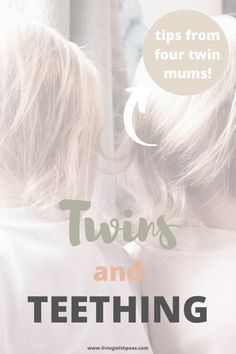 Must read remedies and experiences from four twin mums to guide you through teething with twins. What works, what doesn't and coping with two teethers at once! Breastfeeding Twins, Newborn Twins, Baby Twins, Teething Gel, Amber Teething, Twin Mom, Twin Babies, Ashton And Parsons