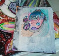 Listening by spitfaced on Etsy