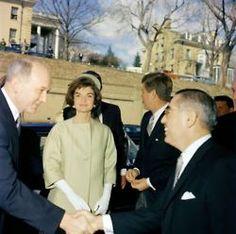 1961. 16 Mars. JFK & Jackie celebrating the unification of Italy