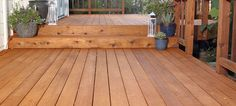 How to clean and stain a deck. (I'm posting this because my dad tried to and failed. Future references when we decide to fix it).
