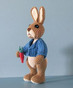 "Pattern for ""Robbie Rabbit"" by Sue Pendleton!"