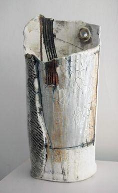Sculptural ceramics by Isabel Merrick.