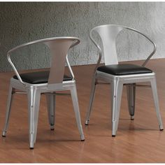 @Overstock.com - Padded Silver Tabouret Stacking Chairs (Set of 4) - These durable, Padded Silver Tabouret Stacking Chairs showcase a 100-percent steel construction that will provide years of style and service. These chairs come with a comfortable bonded leather padded seat and non-mar foot glides.  http://www.overstock.com/Home-Garden/Padded-Silver-Tabouret-Stacking-Chairs-Set-of-4/7655051/product.html?CID=214117 $197.99