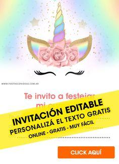 Pin De Willians Rivera Aparicio En Invitacion De Unicornio
