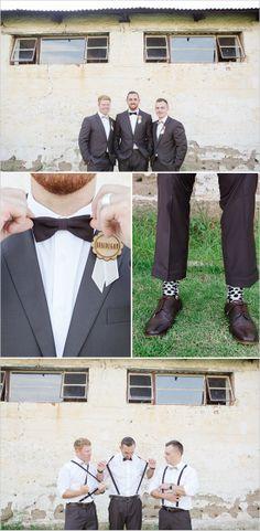 trendy yet classic groomsmen looks