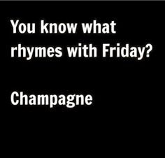 Yes it does! #tgif