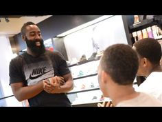 9dfa30b1f879 Foot Locker - James Harden Surprises Shoppers with a Fresh Start