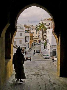 Tangier, Kasbah in Morocco