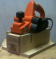 Thickness planer jig