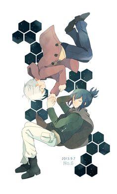 Tags: Anime, No.6, Nezumi (No.6), Sion (No.6), May (Pixiv Id 233774)