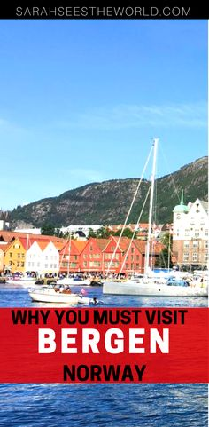 If you're looking for somewhere new to visit in Europe, a trip to Bergen, Norway might be up your alley. Stroll through the picturesque streets and around the beautiful waterfront, take tours of fjords, and much more. Check out our guide so you know where to go and what to see while you're there. Don't forget to save this to your travel board.