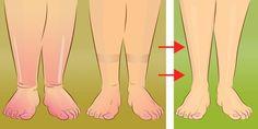 Le gambe gonfie sono un vecchio ricordo! Con questo semplice trucco, vi libererete della…