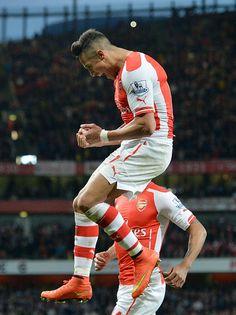 Alexis #Sanchez for #Arsenal [So glad he left Barcelona.]