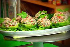 Palta rellena con atún Green Fruit, Ceviche, Relleno, Avocado Toast, Sweet Recipes, Vegetables, Breakfast, Food, Youtube