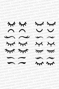 Eyelashes svg eyelashes unicorn vector clipart cut file eyelashes clip art cricut eyelashes s Wimpern SVG, Wimpern Einhorn Vektor, Clipart, Date… Ideas for embroidery eyes for stuffed animals 30 Stunning Open Storage Room Suggestions For Advanced Home E Doll Eyes, Doll Face, Cricut, Silhouette Png, Unicorn Birthday, Birthday Kids, Fabric Dolls, Paper Dolls, Felt Crafts