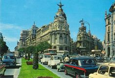 Spain Images, Taxi, Empire State Building, Big Ben, Madrid, Street View, Travel, 1975, Childhood Memories
