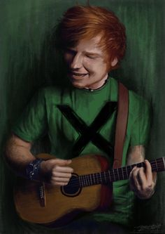 "This piece that celebrates Ed's album ""Multiply"". 