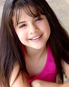 Celebrities As A Child: Selena Gomez Childhood Photos