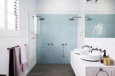 Look through our vast range of Ensuite bathroom ideas right here on . ideas to help start the planning process and get the very most out of your bathroom suite. Ensuite Bathrooms, Bathroom Renos, Bathroom Interior, Bathroom Ideas, Family Bathroom, Laundry In Bathroom, Small Bathroom, Light Bathroom, Modern Bathroom