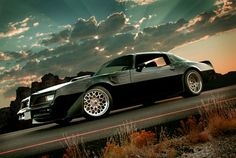 Trans Am-the beauty of man's creation, and nature in this photo.