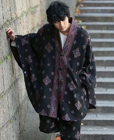 Japanese Men, Pretty People, Hand Weaving, Kimono Top, Jumpsuit, Men Casual, Asian, Guys, Stylish