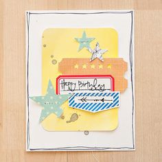 Happy Birthday Card by maggie holmes at @Studio Calico