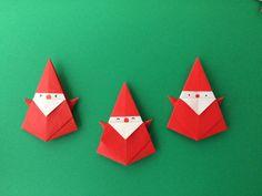 オリガミラボ origamilabo: クリスマスの折り紙いろいろ♫