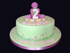 barney birthday cakes | alicia s barney birthday cake my lovely niece s 2nd birthday cake she ...