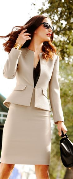 Most up-to-date Cost-Free Business Outfit blazer Style, Office Attire, Office Outfits, Work Attire, Casual Office, Elegant Office Wear, Smart Attire, Office Dresses, Office Style, Elegant Outfit
