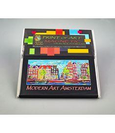 Magnet Modern Art Amsterdam MAAP.032 Amsterdam Souvenirs, Modern Art, Modern Design, Data Sheets, Design Art, Original Paintings, Prints, Contemporary Design, Contemporary Art