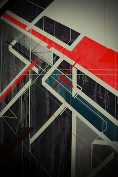 Polish artist Nawer has been involved in street art since the mid-1990s. He graduated from the Architecture and Urbanism program in Krakow and in 2003 focused his energies on painting and freelance work as an interior designer. As his own style evolves, the goal is to connect painting with architecture. www.behance.net/NAWER
