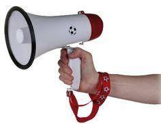 """Neue Fanartikel zur WM2014, wie """"Supporter Megafon SAY IT LOUD - Mit Fußballhymne!"""" jetzt hier erhältlich: http://fussball-fanartikel.einfach-kaufen.net/fan-hoerner-megaphone/supporter-megafon-say-it-loud-mit-fussballhymne/"""