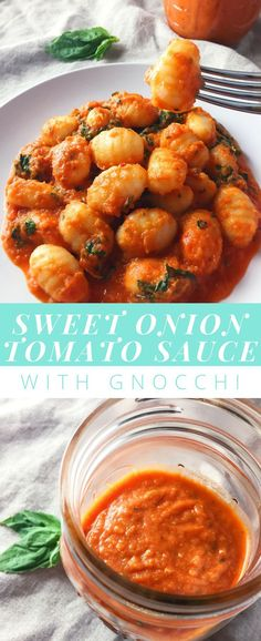A rich, creamy pasta sauce with sweet onions, savory tomatoes, peppery seasonings and sharp parmesan. This sauce is versatile and easy to throw together with things you probably already have. Gnocchi Pasta, Creamy Tomato Sauce, Creamy Pasta, Pasta Sauce Recipes, Easy Pasta Sauce, Pasta Sauces, Pasta With Onions, Dinner Party Recipes, Koken