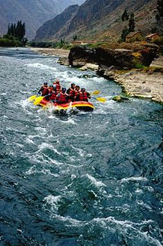 ✮ Rafting the Urubamba River, Sacred Valley, Peru - this river runs below the Inca Citadel of Machu Picchu